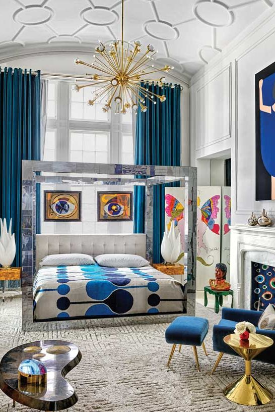 best art deco bedrooms