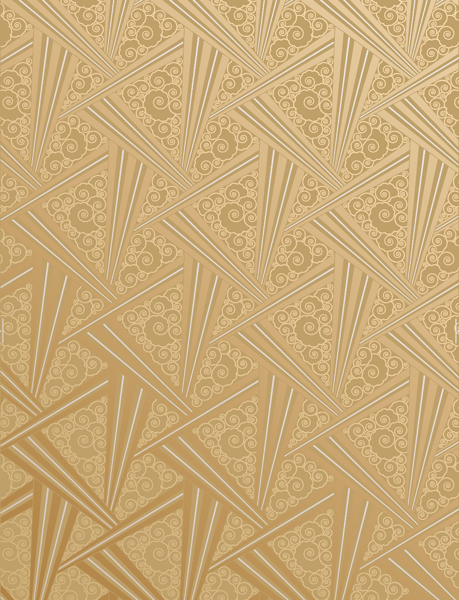 Connu 18 Art Deco Wallpaper Ideas - Decorating with 1920s Art Deco Wall  SL02