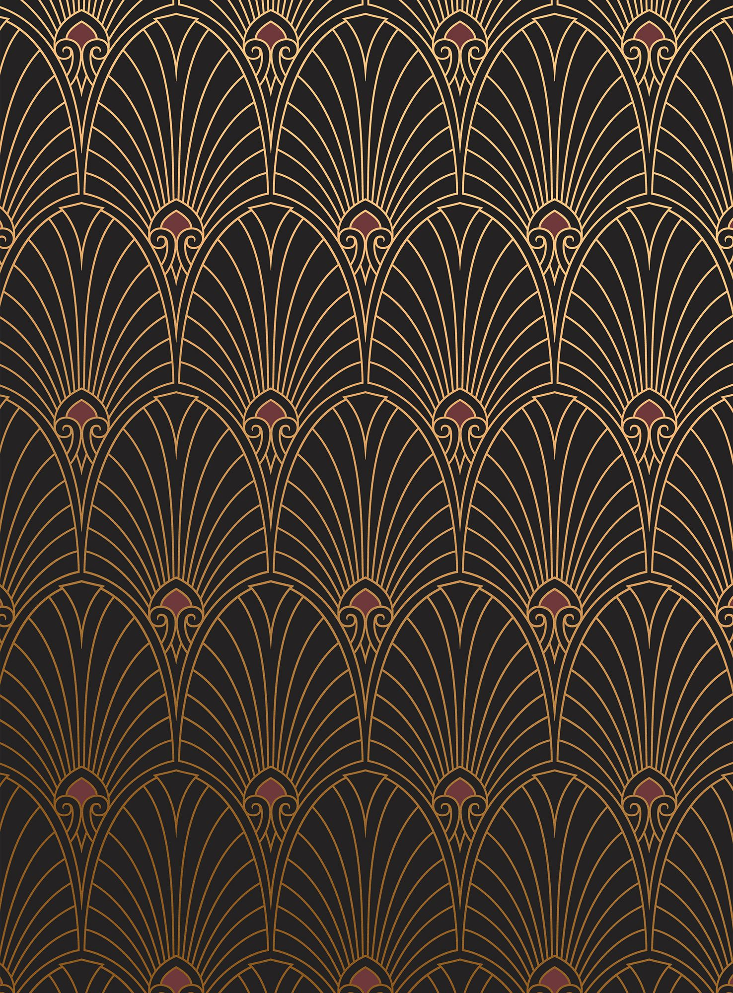 18 Art Deco Wallpaper Ideas , Decorating with 1920s Art Deco