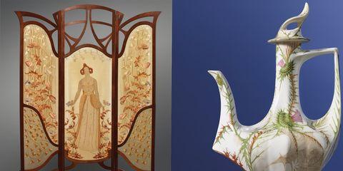 Art nouveau, Gemeentemuseum Den Haag, Nederland, expositie, tentoonstelling, agenda