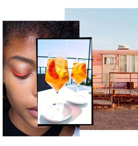 Orange, Yellow, Eyewear, Photography, Glasses, Glass, Drink,