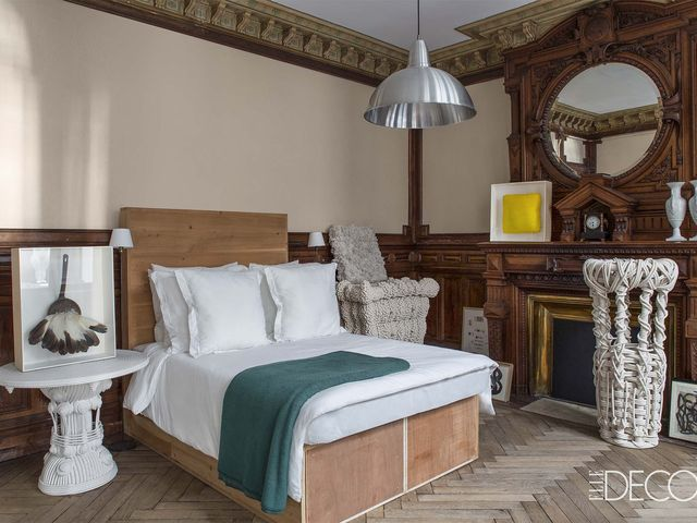 This French Duplex Apartment Is Like An Art Museum French Style Homes Cool Interactive Bedroom Design
