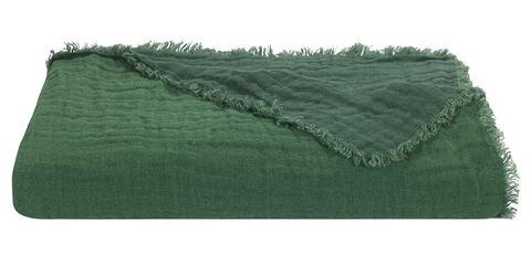 artichoke linen marais throw, £140, loom  last