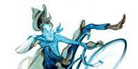 Art, Azure, Fictional character, Teal, Graphics, Wing, Aqua, Animation, Artwork, Painting,