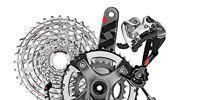 Machine, Bicycle drivetrain part, Drawing, Circle, Illustration, Groupset, Automotive engine part, Motorcycle accessories, Crankset, Transmission part,