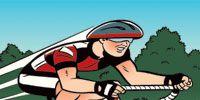 Mode of transport, Bicycle frame, Transport, Bicycle, Bicycle tire, Bicycle wheel, Bicycle handlebar, Bicycle wheel rim, Cartoon, Cycling,
