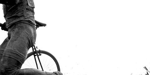 Bicycle tire, Bicycle wheel rim, Bicycle wheel, Monochrome, Automotive tire, Bicycle, Rim, Monochrome photography, Spoke, Bicycle part,