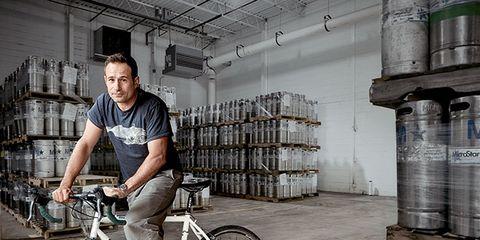Sam Calagione: Dogfish Head Brewery's mastermind.