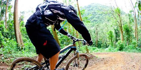 Wheel, Tire, Bicycle frame, Bicycle wheel, Mountain bike, Bicycle fork, Bicycle tire, Bicycle wheel rim, Bicycle part, Bicycle,