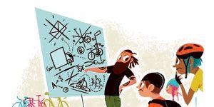 Interaction, Animation, Artwork, Teal, Graphics, Animated cartoon, Illustration, Gesture, Triangle, Handwriting,
