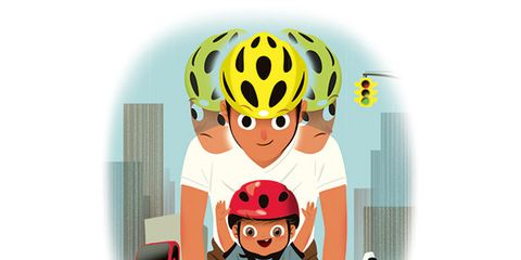 Bicycle clothing, Animation, Bicycle helmet, Helmet, Fictional character, Bicycles--Equipment and supplies, Cartoon, Animated cartoon, Graphics, Illustration,