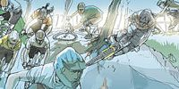 Cartoon, Art, Fiction, Animation, Illustration, Fictional character, Painting, Drawing, Cg artwork, Hero,