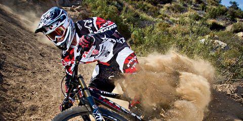 Helmet, Bicycle wheel, Bicycle frame, Bicycle wheel rim, Bicycle tire, Shoe, Bicycles--Equipment and supplies, Mountain bike, Bicycle helmet, Bicycle,