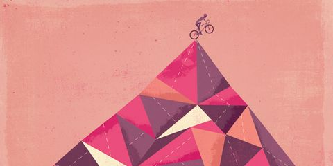 Pattern, Colorfulness, Pink, Triangle, Line, Magenta, Slope, Art, Pyramid, Maroon,