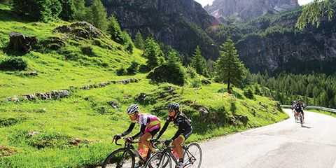 Weight lifting will help you climb when cycling