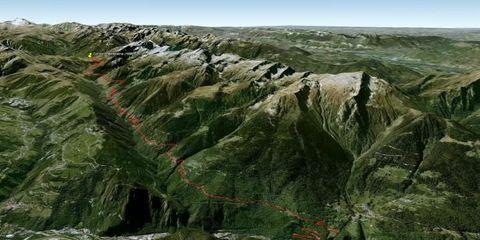 Mountainous landforms, Highland, Slope, Mountain, Geology, Terrain, Formation, Geological phenomenon, Outcrop, Batholith,