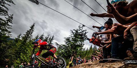 Soil, Mountain biking, Mountain bike, Cycle sport, Freeride, Bicycle, Bicycle tire, Downhill mountain biking, Extreme sport, Racing,
