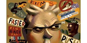 Chin, Fictional character, Animation, Fiction, Illustration, Poster, Publication, Games, Symbol, Throat,