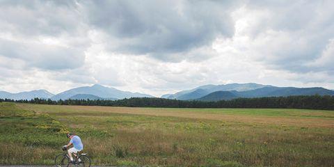 Road, Mountainous landforms, Cloud, Bicycle wheel, Highland, Plain, Mountain range, Asphalt, Hill, Bicycles--Equipment and supplies,