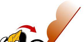 Bicycle wheel rim, Rim, Auto part, Spoke, Graphics, Clip art, Illustration, Rolling, Artwork, Drawing,