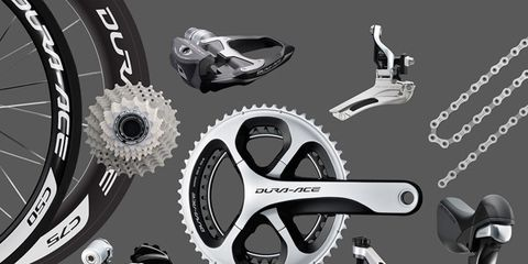 Bicycle part, Bicycle drivetrain part, Bicycle wheel rim, Groupset, Motorcycle accessories, Gear, Crankset, Auto part, Spoke, Tool,