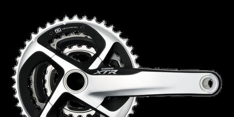 Bicycle drivetrain part, Gear, Bicycle part, Crankset, Auto part, Clutch part, Circle, Steel, Transmission part, Drawing,