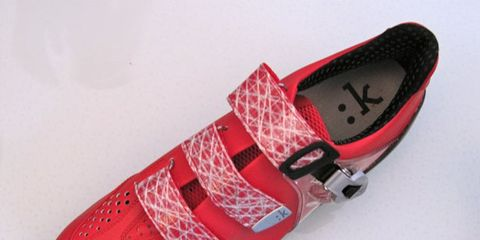 Footwear, Product, Shoe, Red, Light, Carmine, Musical instrument accessory, Bicycle shoe, Design, Walking shoe,