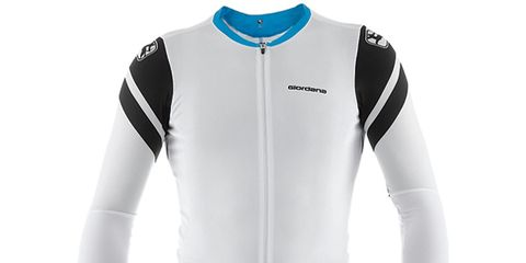 Clothing, Blue, Product, Jersey, Sleeve, Collar, Sportswear, Sports uniform, Shoulder, White,