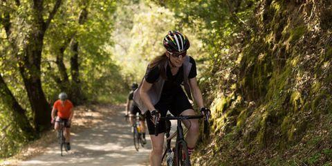 Clothing, Bicycle frame, Wheel, Bicycle wheel, Helmet, Bicycles--Equipment and supplies, Recreation, Bicycle, Bicycle handlebar, Bicycle wheel rim,