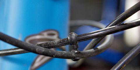Iron, Metal, Electric blue, Close-up, Steel, Security, Macro photography, Aluminium, Building material, Nickel,