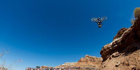 Soil, Stunt performer, Bedrock, Geology, Stunt, Extreme sport, Formation, Slope, Motocross, Jumping,