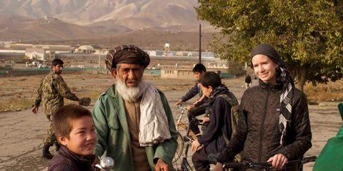 afghan women's cycling