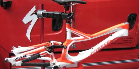 Bicycle frame, Bicycle part, Bicycle handlebar, Bicycle, Bicycle accessory, Red, Bicycle stem, Bicycles--Equipment and supplies, Bicycle saddle, Bicycle fork,