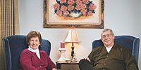 Leg, Sitting, Furniture, Room, Photograph, Picture frame, Comfort, Living room, Interior design, Cobalt blue,