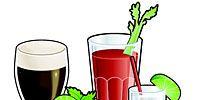Drink, Product, Liquid, Green, Glass, Drinkware, Alcoholic beverage, Leaf, Tableware, Line,