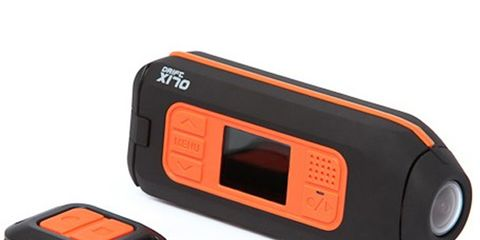 Electronic device, Orange, Red, Technology, Line, Rectangle, Parallel, Plastic, Coquelicot, Gadget,