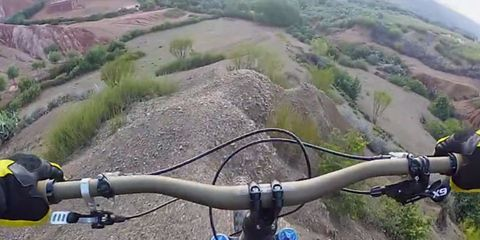 Bicycle handlebar, Bicycle accessory, Bicycle, Bicycle part, Bicycles--Equipment and supplies, Adventure, Bicycle stem, Terrain, Mountain bike, Road bicycle,