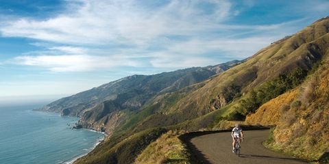 Mountainous landforms, Coastal and oceanic landforms, Coast, Highland, Hill, Road cycling, Terrain, Slope, Bicycles--Equipment and supplies, Trail,