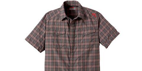 Clothing, Product, Dress shirt, Collar, Sleeve, Pattern, Plaid, Textile, Shirt, White,