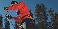 Clothing, Recreation, Trousers, Winter sport, Sports equipment, Ski, Ski boot, Standing, Joint, Ski Equipment,