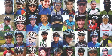 Clothing, People, Bicycle helmet, Sports equipment, Helmet, Personal protective equipment, Social group, Bicycles--Equipment and supplies, Sports gear, Community,
