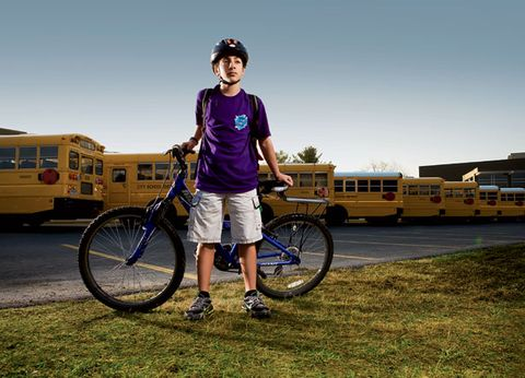 823527e202f Adam Marino of Saratoga Springs, NY, sparked a national debate simply by  trying to ride to middle school. (Nathaniel Welch)