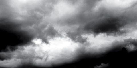 Cloud, Monochrome, Atmosphere, Monochrome photography, Road surface, Style, Black-and-white, Darkness, Black, Atmospheric phenomenon,