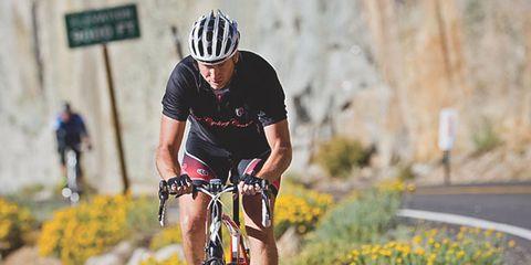 Helmet, Bicycle helmet, Bicycle jersey, Bicycles--Equipment and supplies, Sports equipment, Bicycle handlebar, Sportswear, Bicycle frame, Bicycle, Bicycle wheel,