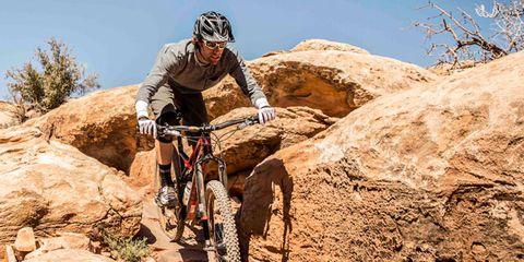 Tire, Bicycle frame, Bicycle wheel, Wheel, Bicycle helmet, Helmet, Sports equipment, Mountain bike, Bicycles--Equipment and supplies, Mountain biking,