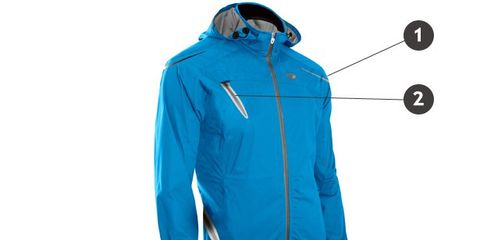 Blue, Product, Sleeve, Collar, Jacket, Textile, Outerwear, Coat, Electric blue, Azure,