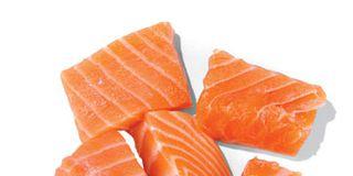 Orange, Food, Ingredient, Cuisine, Peach, Salmon, Sashimi, Lox, Smoked salmon, Junk food,