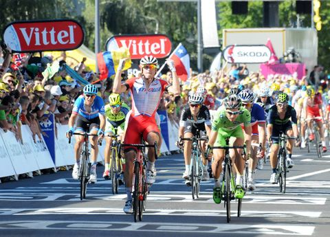 9cd4631a7bc The Stage 12 win is Norwegian Alexander Kristoff's first Tour de France  victory. (James Startt)