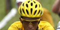 Clothing, Bicycle jersey, Yellow, Bicycles--Equipment and supplies, Sleeve, Sportswear, Jersey, Sports uniform, Bicycle helmet, Photograph,