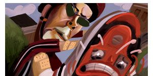 Carmine, Rolling, Illustration, Drawing, Graphics, Scooter, Painting, Clip art,